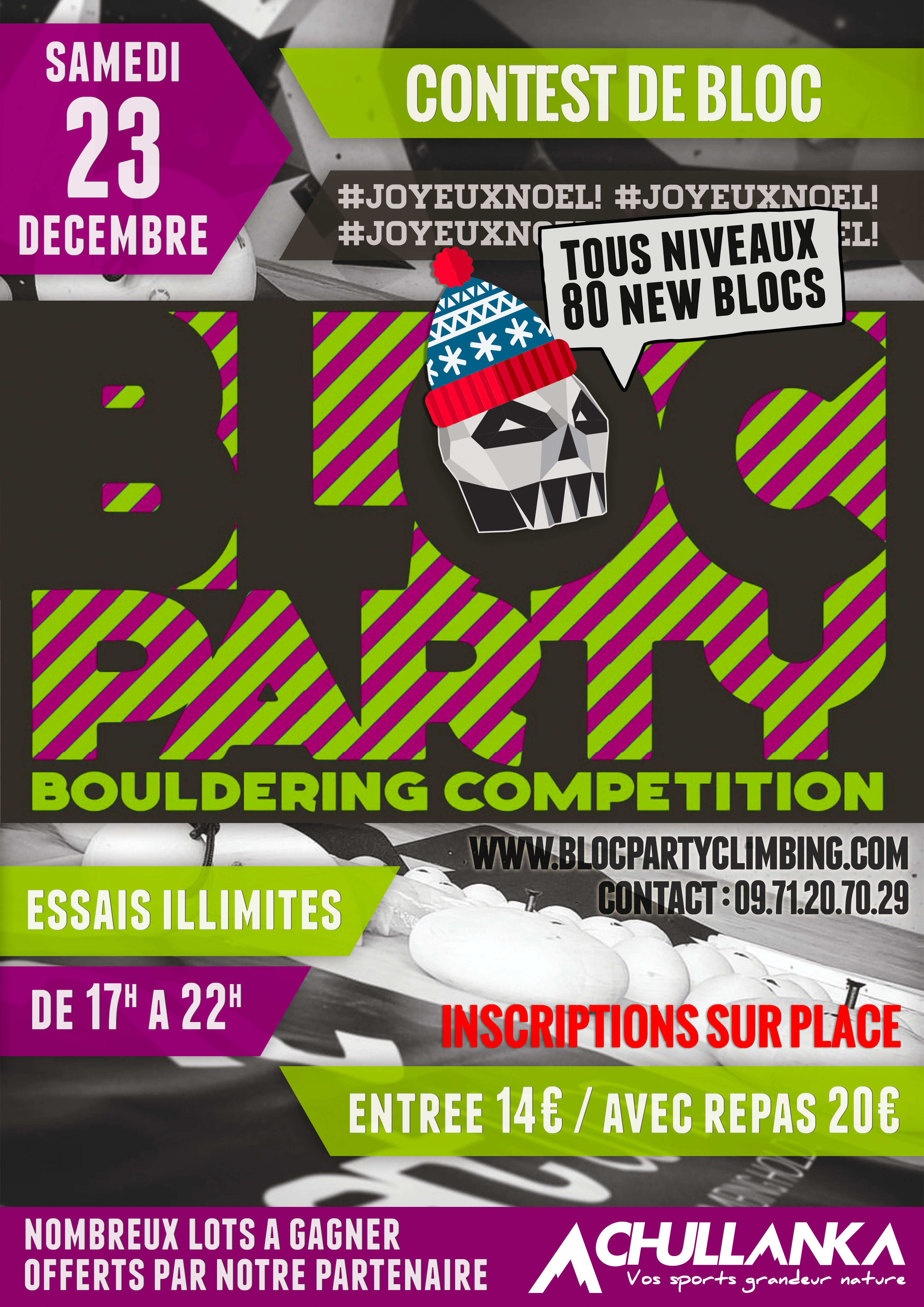 BLOCPARTY CONTEST I
