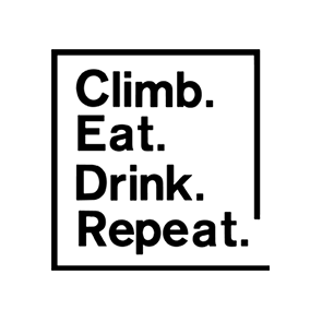 logo eat climb noirffff